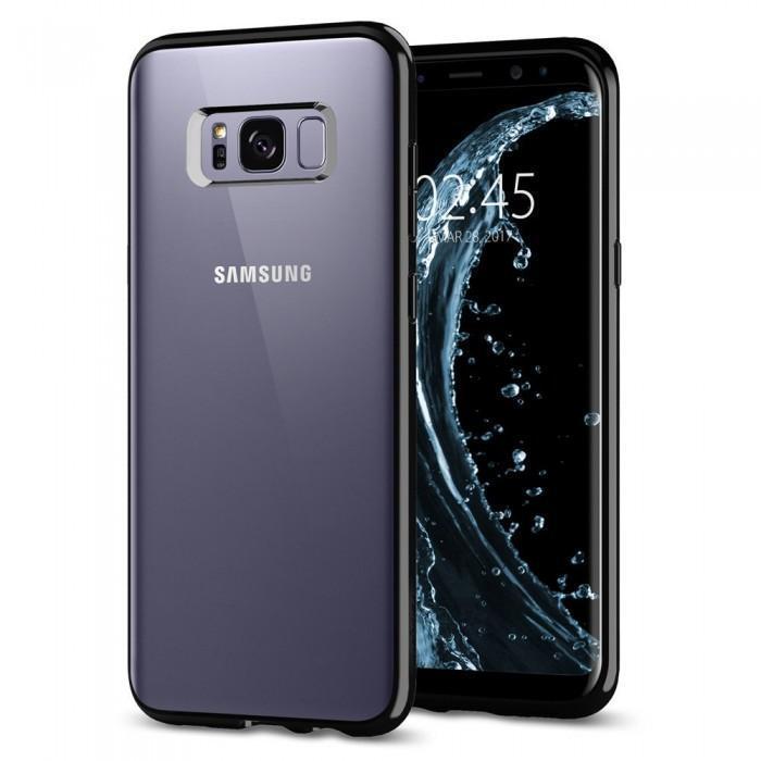 Чехол-накладка Spigen Ultra Hybrid для Samsung Galaxy S8+ черный (SGP 571CS21682)для Samsung<br>Чехол-накладка Spigen Ultra Hybrid для Samsung Galaxy S8+ черный (SGP 571CS21682)<br>