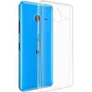 Чехол-накладка для Microsoft Lumia 640 XL силиконовый прозрачныйдля Nokia/Microsoft<br>Чехол-накладка для Microsoft Lumia 640 XL силиконовый прозрачный<br>