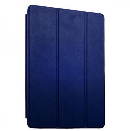 Чехол-книжка Smart Case для Apple iPad Pro 12.9 (искусственная кожа с подставкой) (темно-синий) фото