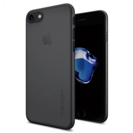 Чехол-накладка Spigen Air Skin для Apple iPhone 7/8 пластик черный (SGP 042CS20869)для iPhone 7/8<br>Чехол-накладка Spigen Air Skin для Apple iPhone 7/8 пластик черный (SGP 042CS20869)<br>
