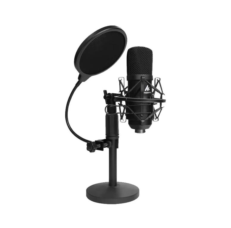 Конденсаторный USB-микрофон Maono Kit AU-A04TC (комплект с чемоданом) 192 kHz/24 bit (Black)