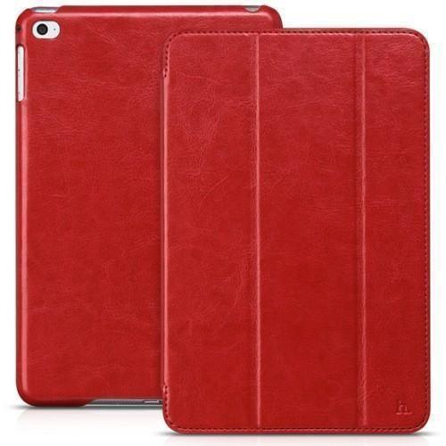 Чехол-книжка Hoco Crystal Series для Apple iPad mini 4 (искусственная кожа с подставкой) красный