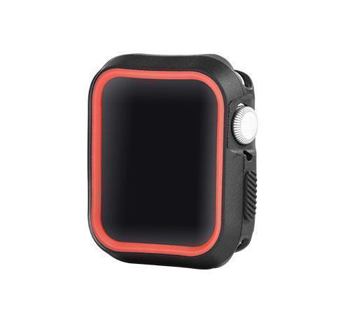 Чехол-накладка Devia dazzle series protective case для Apple Watch 4 44mm красный/черный