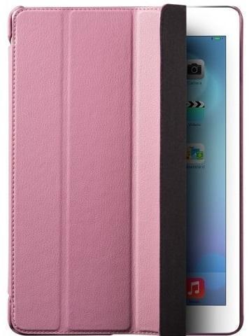 Чехол-книжка Hoco Duke Series для Apple iPad Air / 2017 (искусственная кожа) розовый