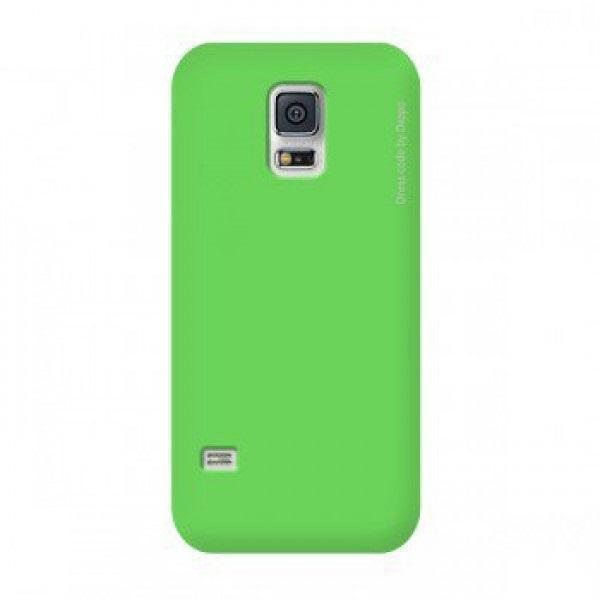 Чехол-накладка Deppa Air Case для Samsung Galaxy S5 mini (SM-G800) зеленый + защитная пленкадля Samsung<br>Чехол-накладка Deppa Air Case для Samsung Galaxy S5 mini (SM-G800) зеленый + защитная пленка<br>