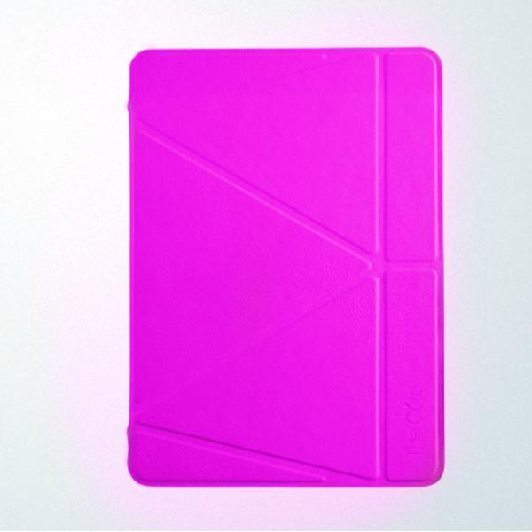 Чехол-книжка Gurdini Premium Leather для Apple iPad Air 2 (полиуретан с подставкой) розовыйдля Apple iPad Air 2<br>Чехол-книжка Gurdini Premium Leather для Apple iPad Air 2 (полиуретан с подставкой) розовый<br>