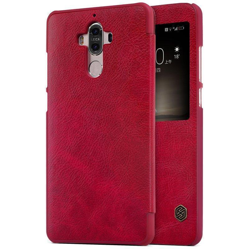 Чехол-книжка Nillkin QIN Leather Case для Huawei Mate 9 /Mate 9 Dual sim натуральная кожа красныйдля Huawei<br>Чехол-книжка Nillkin QIN Leather Case для Huawei Mate 9 /Mate 9 Dual sim натуральная кожа красный<br>