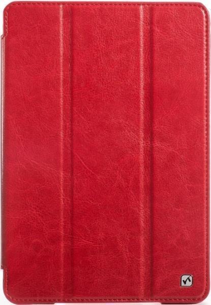 Чехол-книжка Hoco Crystal Series для Apple iPad mini 1/2/3 (искусственная кожа с подставкой) red