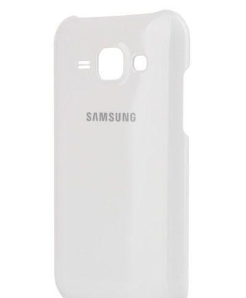 Чехол-накладка Samsung Protective Cover для Galaxy J1 (SM-J100/SM-J110) белый (EF-PJ100BWEGRU)для Samsung<br>Чехол-накладка Samsung Protective Cover для Galaxy J1 (SM-J100/SM-J110) белый (EF-PJ100BWEGRU)<br>