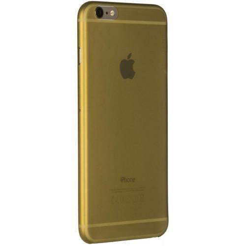 Чехол-накладка Deppa Sky Case для Apple iPhone 6 Plus/6S Plus пластиковый золотой + защитная пленка