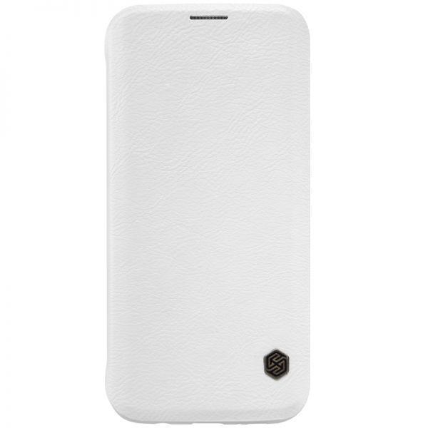Чехол-книжка Nillkin QIN Leather Case для Samsung Galaxy S7 (SM-G930) натуральная кожа (белый)для Samsung<br>Чехол-книжка Nillkin QIN Leather Case для Samsung Galaxy S7 (SM-G930) натуральная кожа (белый)<br>