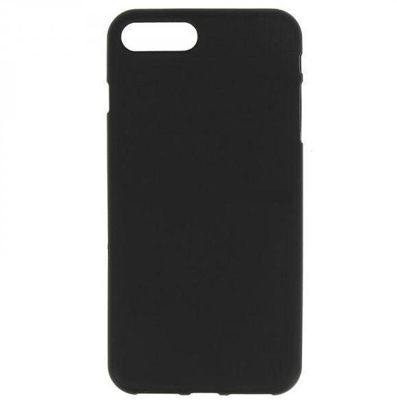 Купить Чехол-накладка усиленный 0.8mm для Apple iPhone 7/8 силиконовый матовый (черный)