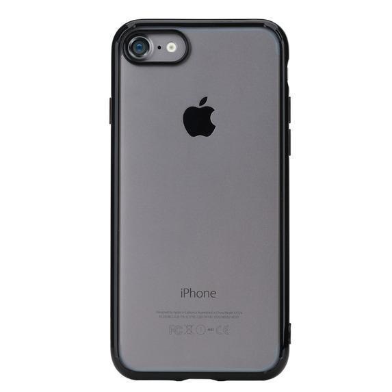 Чехол-накладка Rock Pure Series для Apple iPhone 7/8 пластик-силикон прозрачно-черныйдля iPhone 7/8<br>Чехол-накладка Rock Pure Series для Apple iPhone 7/8 пластик-силикон прозрачно-черный<br>