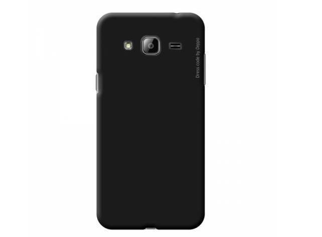 Купить Чехол-накладка Deppa Air Case для Samsung Galaxy J3 (2016) SM-J320 пластиковый (черный)