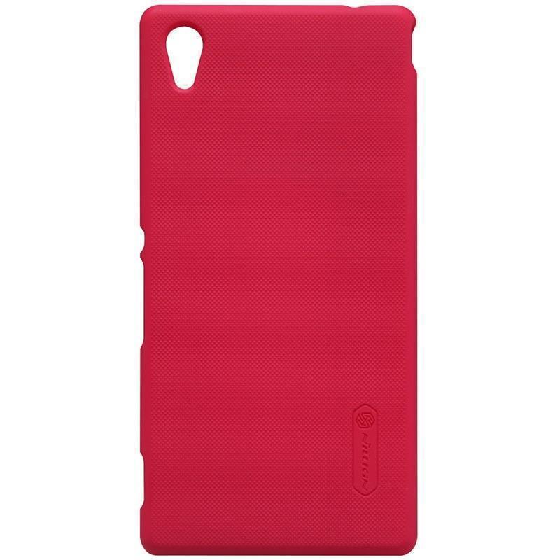 Чехол-накладка Nillkin Frosted Shield для Sony Xperia M4 Aqua / M4 Aqua Dual пластиковый красныйдля Sony<br>Чехол-накладка Nillkin Frosted Shield для Sony Xperia M4 Aqua / M4 Aqua Dual пластиковый красный<br>