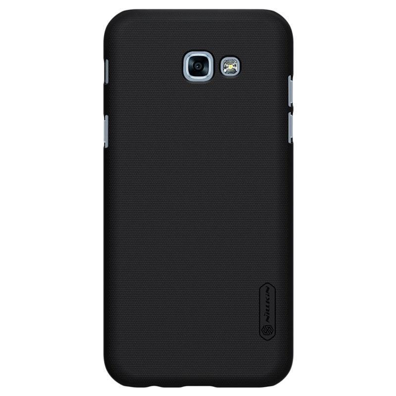 Чехол-накладка Nillkin Frosted Shield для Samsung Galaxy A3 (2017) SM-A320 пластиковый черныйдля Samsung<br>Чехол-накладка Nillkin Frosted Shield для Samsung Galaxy A3 (2017) SM-A320 пластиковый черный<br>