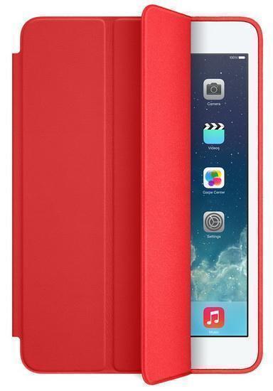 Чехол-книжка Apple Smart Case для Apple iPad mini 1/2/3 (натуральная кожа с подставкой) красный