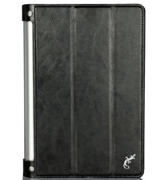 Чехол-книжка G-Case для Lenovo Yoga Tablet 2 10.1 искусственная кожа с подставкой (черный) фото