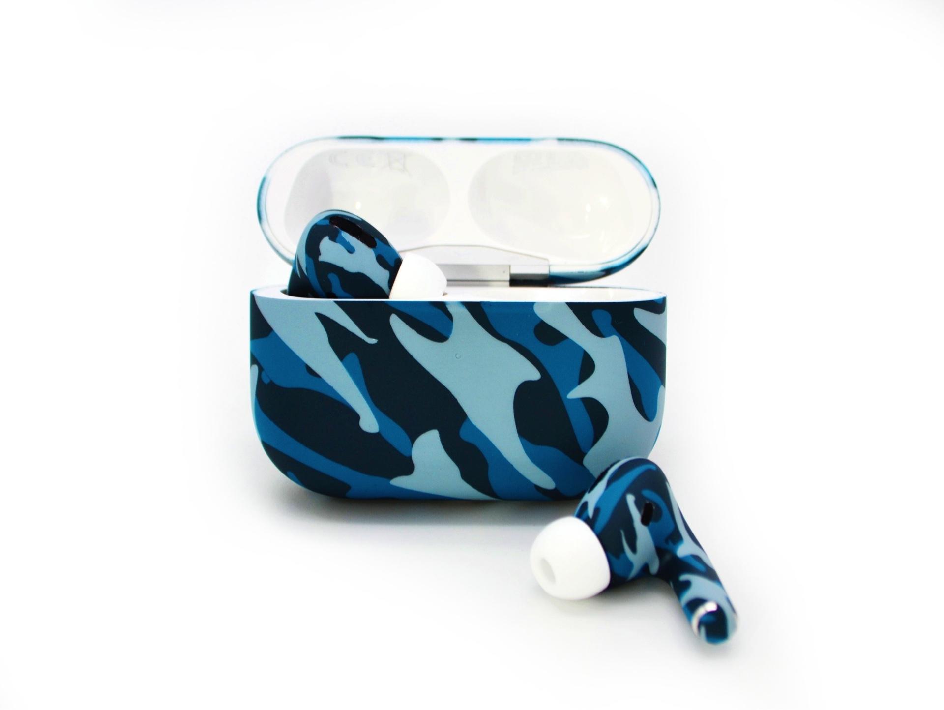 Беспроводная гарнитура Apple AirPods Pro (Blue Camo) фото