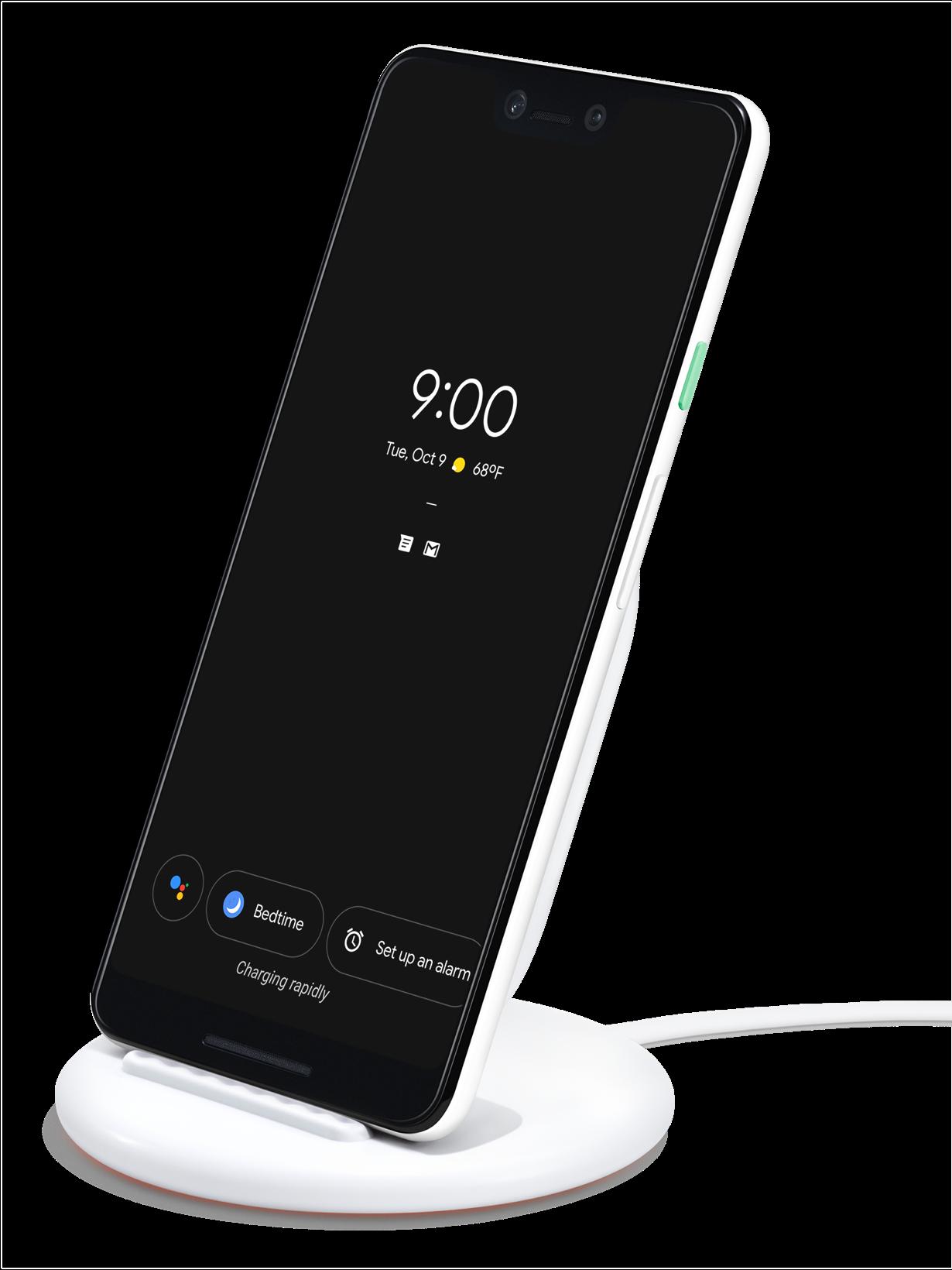 Купить Беспроводное зарядное устройство Google Pixel 3 XL Stand Wireless Charger Qi Charge (G019C) (белый)
