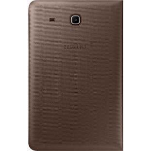 Чехол-книжка Samsung BookCover для Galaxy Tab E 9.6 SM-T561/SM-T560 полиуретан подставка коричневыйдля Samsung<br>Чехол-книжка Samsung BookCover для Galaxy Tab E 9.6 SM-T561/SM-T560 полиуретан подставка коричневый<br>