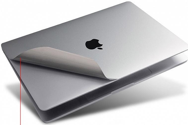 Комплект наклеек WIWU 3-in-1 Nano Body Guard для Apple MacBook Pro 13 Space Gray
