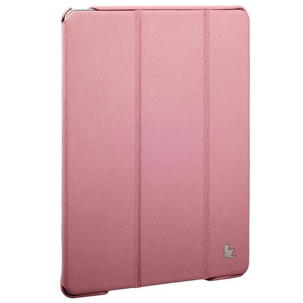 Чехол-книжка JisonCase для Apple iPad Air 2 искусственная кожа с подставкой (светло-розовый) фото