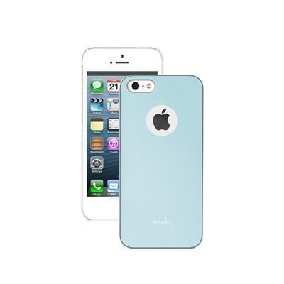 Чехол-накладка Moshi iGlaze для Apple iPhone SE/5S/5 голубойдля iPhone 5/5S/SE<br>Чехол-накладка Moshi iGlaze для Apple iPhone SE/5S/5 голубой<br>
