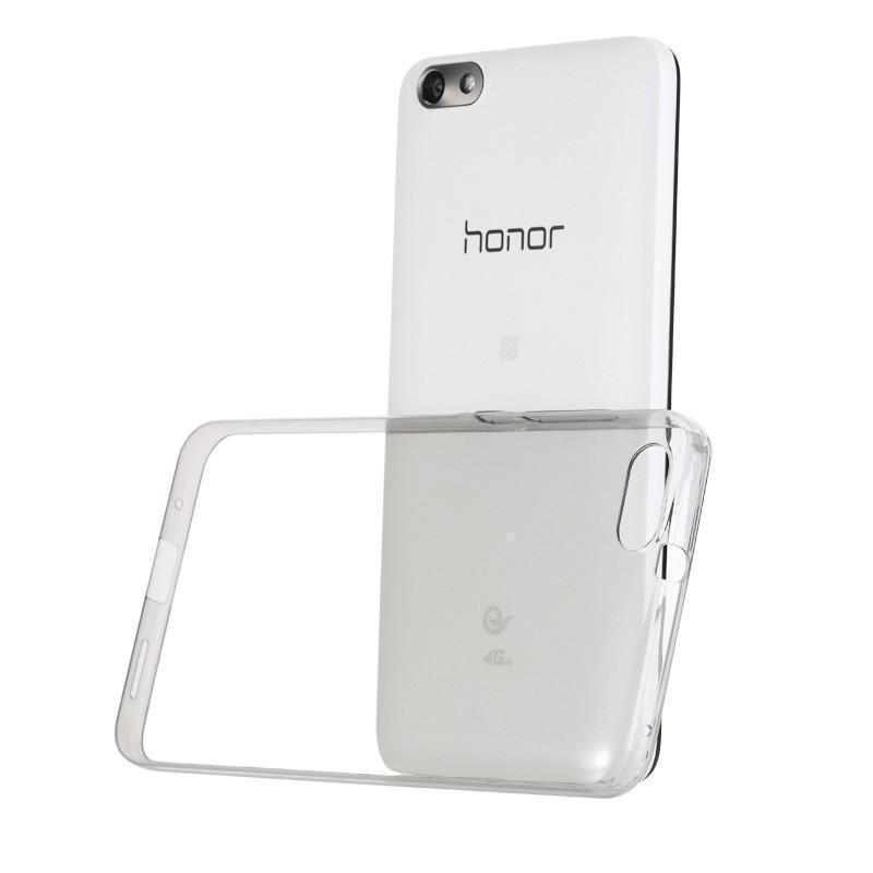 Чехол-накладка для Huawei Honor 7 силиконовый прозрачныйдля Huawei<br>Чехол-накладка для Huawei Honor 7 силиконовый прозрачный<br>