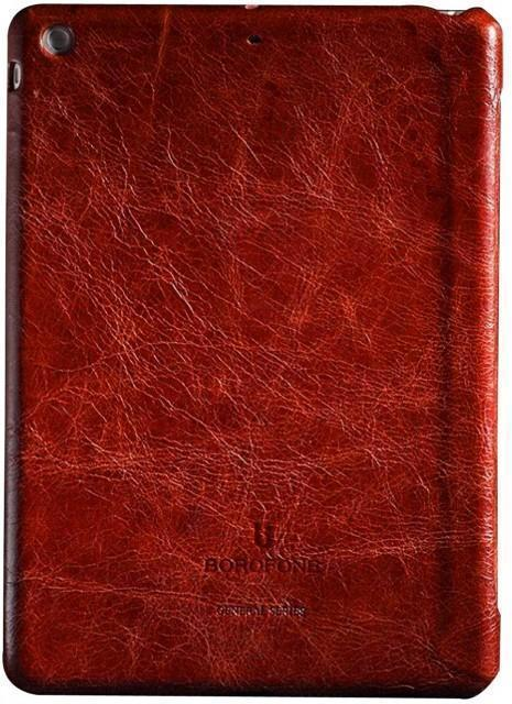 Чехол-книжка Borofone General Series для Apple iPad Air (натуральная кожа с подставкой) orange red