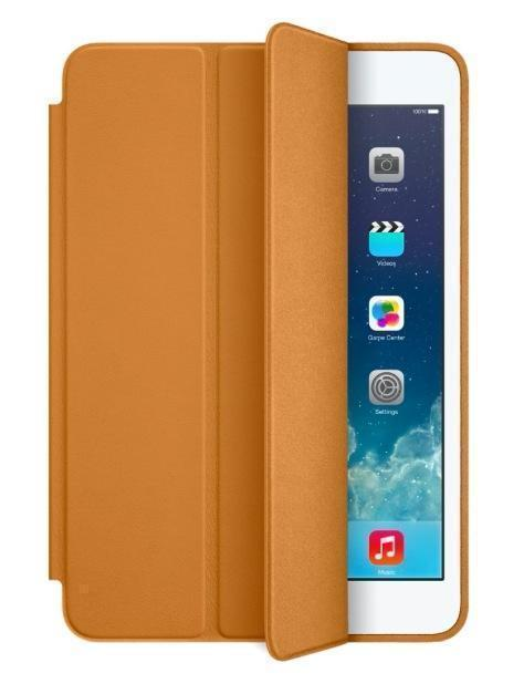 Чехол-книжка Apple Smart Case для Apple iPad mini 1/2/3 натуральная кожа с подставкой коричневый
