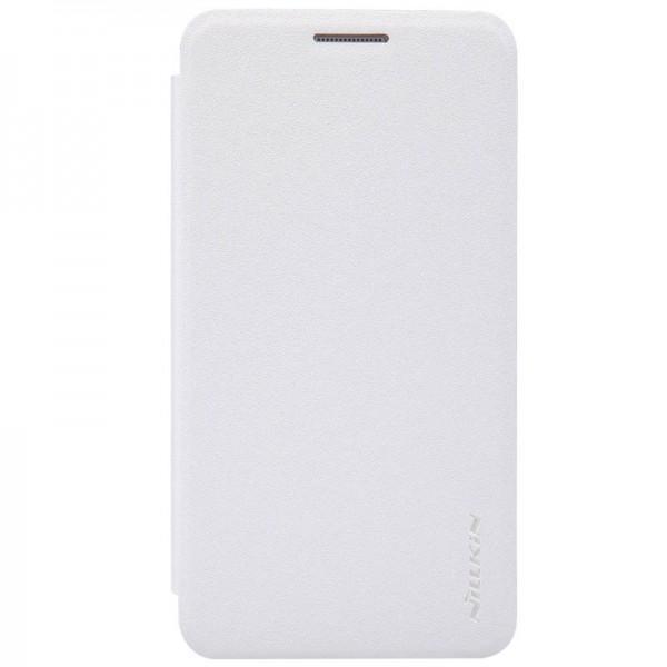 Чехол-книжка Nillkin Sparkle Series для Samsung Galaxy A3 (SM-A300) пластик-полиуретан белыйдля Samsung<br>Чехол-книжка Nillkin Sparkle Series для Samsung Galaxy A3 (SM-A300) пластик-полиуретан белый<br>