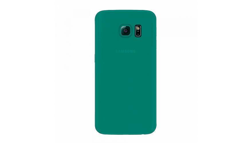 Чехол-накладка Deppa Sky Case для Samsung Galaxy S6 Edge (SM-G925) пластик зеленый + защитная пленкадля Samsung<br>Чехол-накладка Deppa Sky Case для Samsung Galaxy S6 Edge (SM-G925) пластик зеленый + защитная пленка<br>