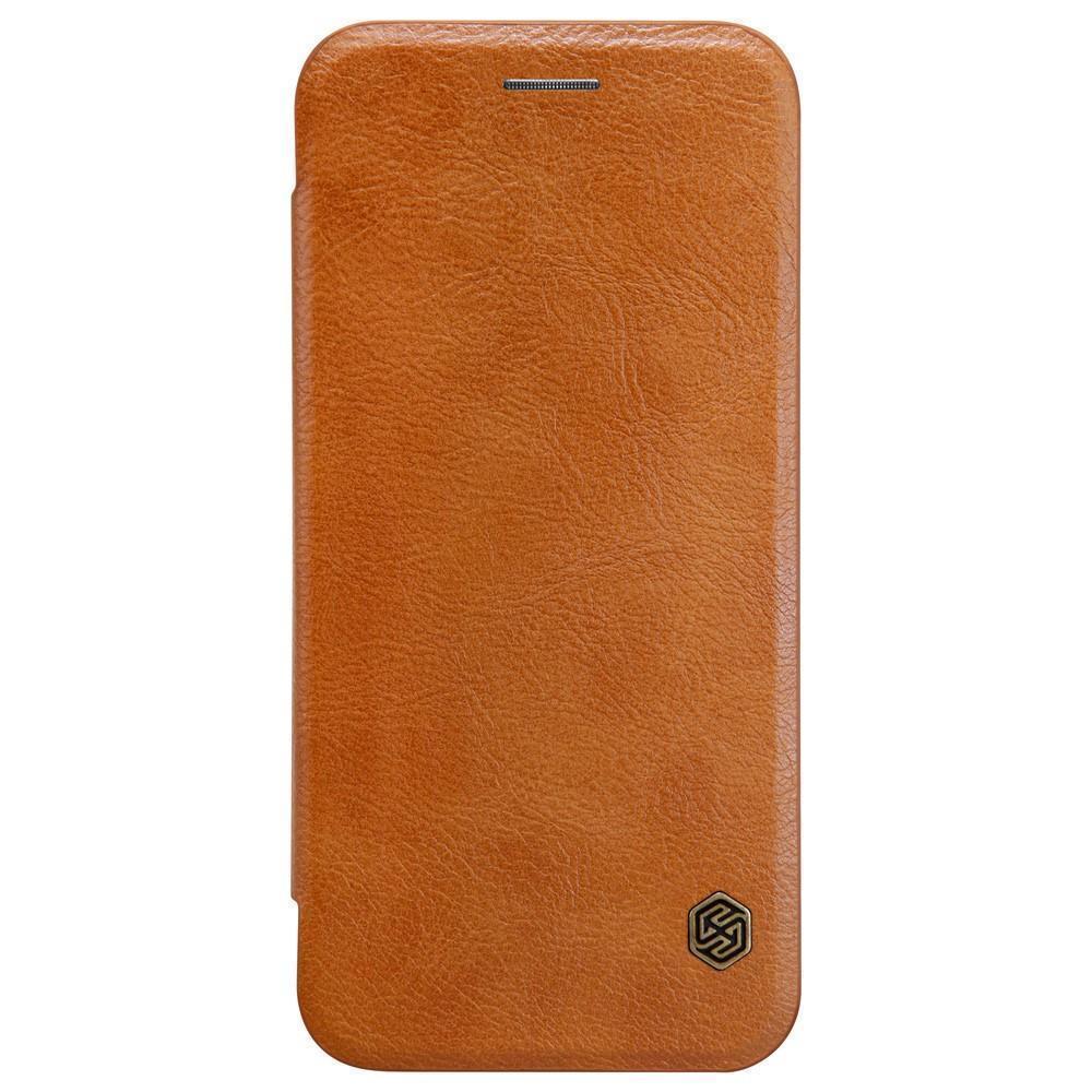 Купить Чехол-книжка Nillkin QIN Leather Case для Google Pixel XL натуральная кожа (коричневый)