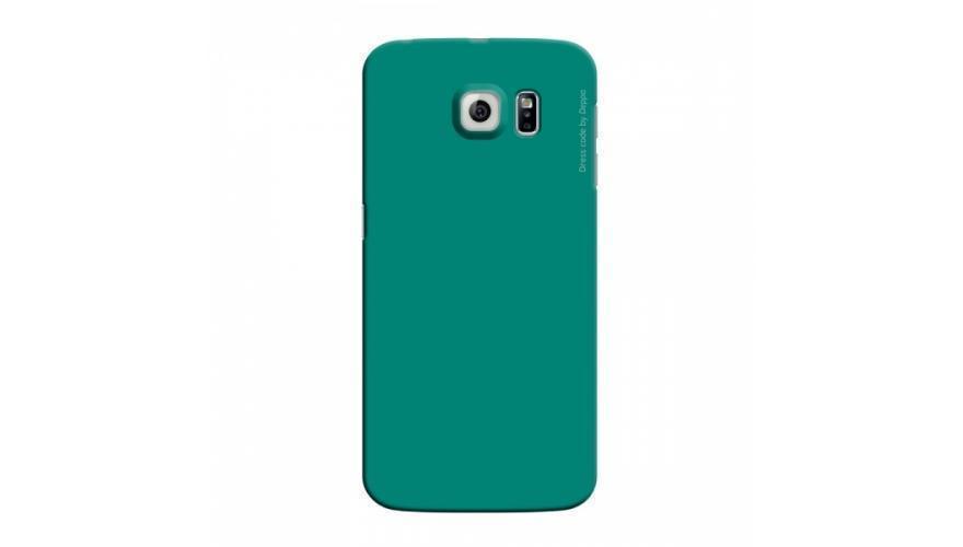 Чехол-накладка Deppa Air Case для Samsung Galaxy S6 Edge (SM-G925) пластик зеленый + защитная пленкадля Samsung<br>Чехол-накладка Deppa Air Case для Samsung Galaxy S6 Edge (SM-G925) пластик зеленый + защитная пленка<br>