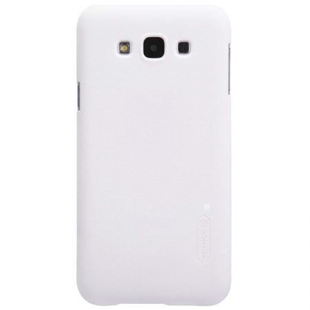 Чехол-накладка Nillkin Frosted Shield для Samsung Galaxy E7 (SM-E700) пластиковый белыйдля Samsung<br>Чехол-накладка Nillkin Frosted Shield для Samsung Galaxy E7 (SM-E700) пластиковый белый<br>
