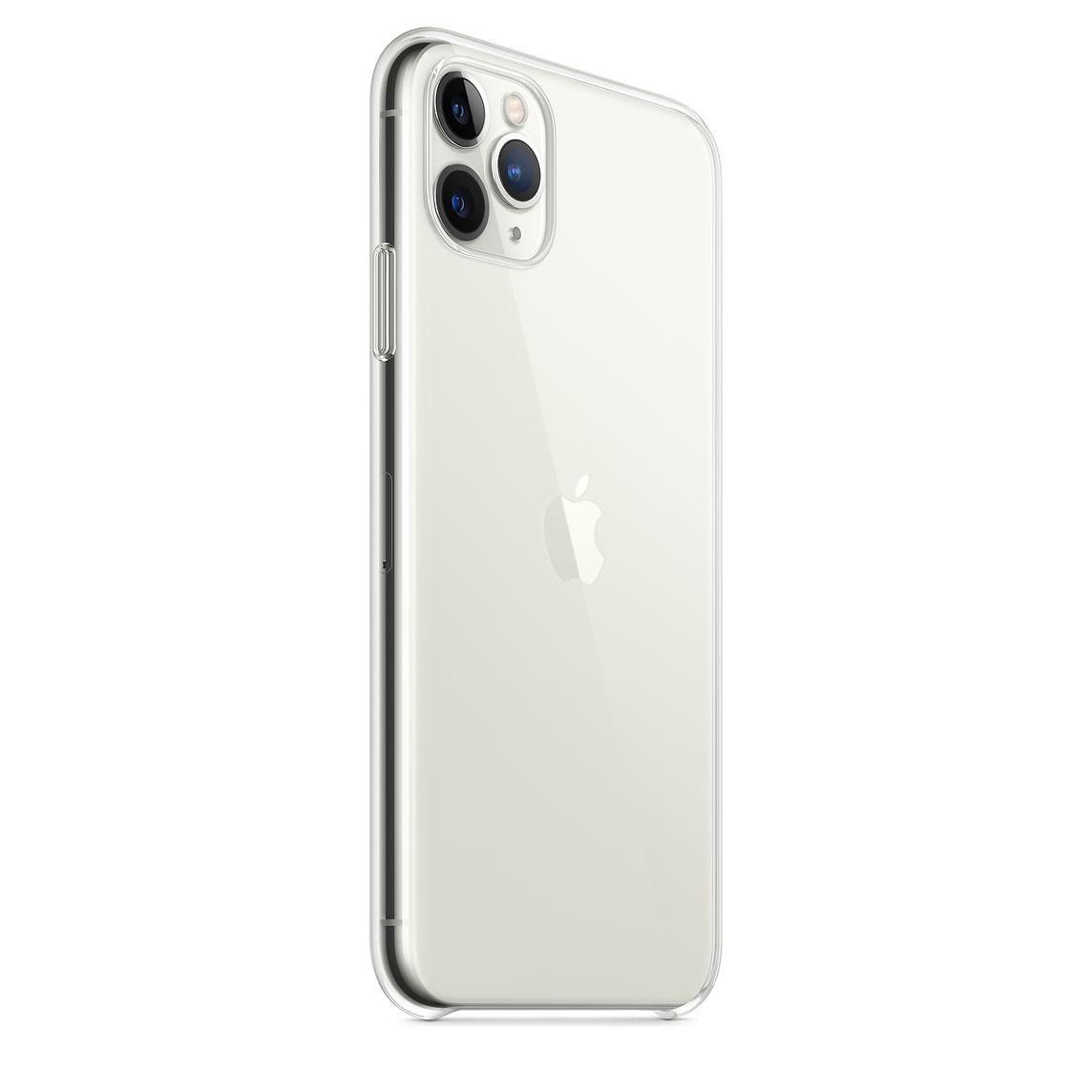 Купить Чехол-накладка ультратонкий 0.3mm для Apple iPhone 11 Pro Max силиконовый (прозрачный)