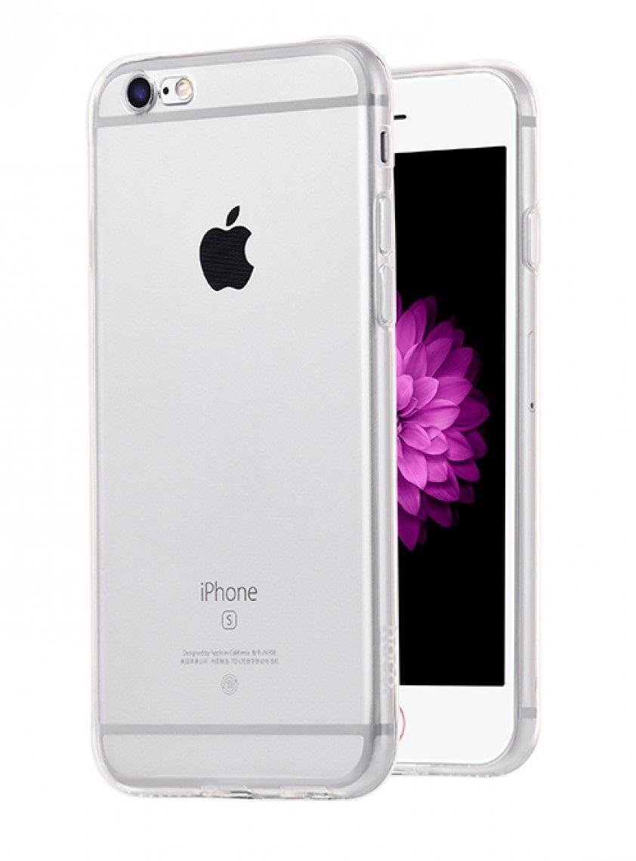 Чехол-накладка Hoco Light Series для Apple iPhone 6/6S силиконовый прозрачно-черныйдля iPhone 6/6S<br>Чехол-накладка Hoco Light Series для Apple iPhone 6/6S силиконовый прозрачно-черный<br>