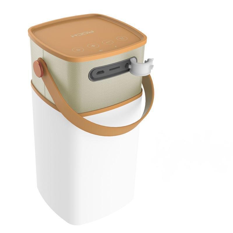 Портативная колонка Rock Mulite Bluetooth Speaker Coffee BrownПортативная акустика, Колонки<br>Портативная колонка Rock Mulite Bluetooth Speaker Coffee Brown<br>