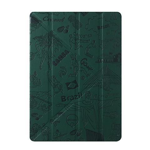 Чехол-книжка Ozaki O!coat Travel Rio De Janei для Apple iPad Air (полиуретан с подставкой) зеленый