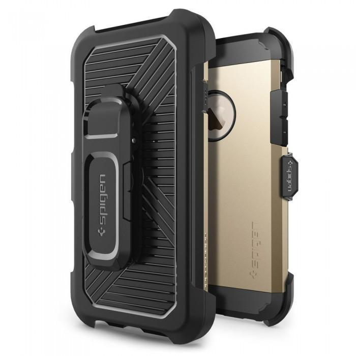 Чехол-накладка Spigen Belt Clip для Apple iPhone 6/6S Black (SGP11773)для iPhone 6/6S<br>Чехол-накладка Spigen Belt Clip для Apple iPhone 6/6S Black (SGP11773)<br>