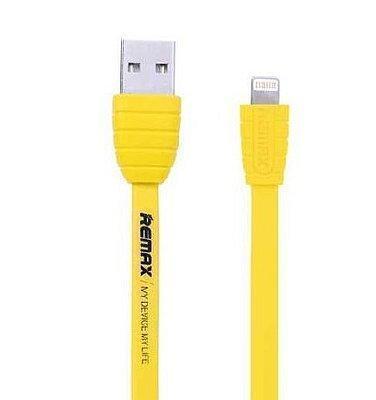 Кабель Remax Radiance (USB) на (Lightning) 100см желтый(Apple lightning) кабели, переходники, адаптеры<br>Кабель Remax Radiance (USB) на (Lightning) 100см желтый<br>