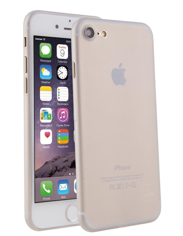 Чехол-накладка Uniq Bodycon для Apple iPhone 7/8 пластик прозрачно-белый (IP7HYB-BDC)для iPhone 7/8<br>Чехол-накладка Uniq Bodycon для Apple iPhone 7/8 пластик прозрачно-белый (IP7HYB-BDC)<br>