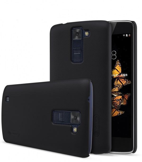 Чехол-накладка Nillkin Frosted Shield для LG K8 (K350E) пластиковый черныйдля LG<br>Чехол-накладка Nillkin Frosted Shield для LG K8 (K350E) пластиковый черный<br>