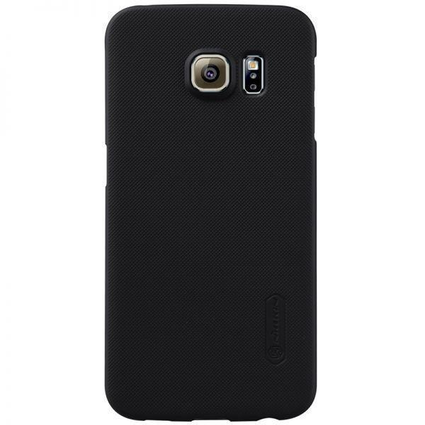 Чехол-накладка Nillkin Frosted Shield для Samsung Galaxy S6 Edge (SM-G925) пластиковый (чeрный) фото