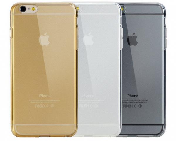 Чехол-накладка Rock Ultrathin TPU Slim Jacket для Apple iPhone 6 Plus/6S Plus прозрачно-черныйдля iPhone 6 Plus/6S Plus<br>Чехол-накладка Rock Ultrathin TPU Slim Jacket для Apple iPhone 6 Plus/6S Plus прозрачно-черный<br>