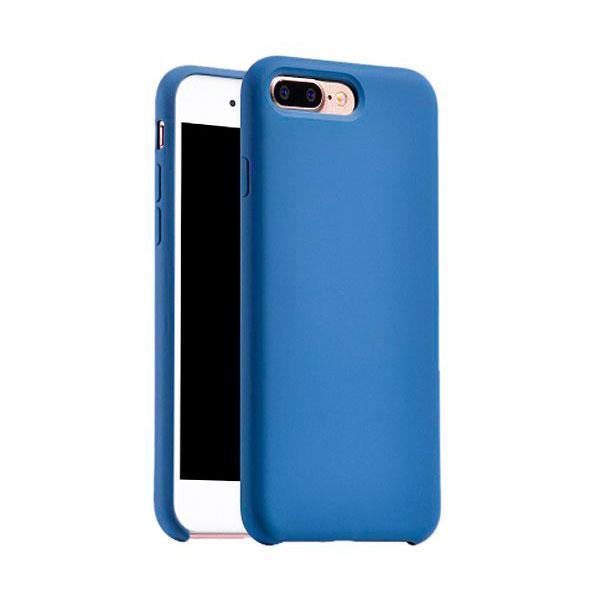 Чехол-накладка Hoco Original Series Silica Cover для Apple iPhone 7 Plus/8 Plus силикон blueдля iPhone 7 Plus/8 Plus<br>Чехол-накладка Hoco Original Series Silica Cover для Apple iPhone 7 Plus/8 Plus силикон blue<br>
