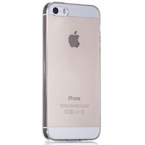 Купить Чехол-накладка Deppa Sky Case 0.3mm для Apple iPhone SE/5S/5 пластиковый матовый прозрачный
