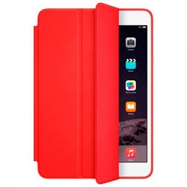 Чехол-книжка Smart Case для Apple iPad mini 1/2/3 (искусственная кожа с подставкой) красныйдля Apple iPad mini 1/2/3<br>Чехол-книжка Smart Case для Apple iPad mini 1/2/3 (искусственная кожа с подставкой) красный<br>