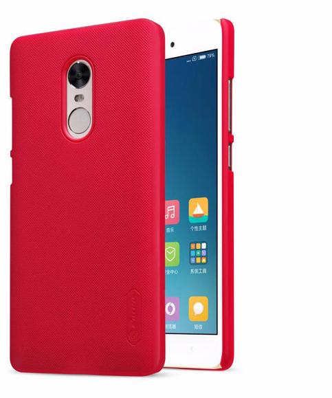 Чехол-накладка Nillkin Frosted Shield для Xiaomi Redmi Note 4X пластиковый красныйдля Xiaomi<br>Чехол-накладка Nillkin Frosted Shield для Xiaomi Redmi Note 4X пластиковый красный<br>